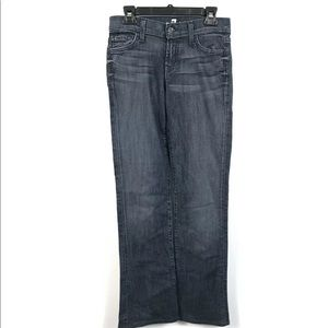 7 FOR ALL MANKIND Jeans Rocker Mid Rise Boot Cut